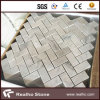壁/フロアーリングのための安い305X305ヘリンボンカラーラの白い大理石のモザイク・タイル