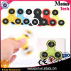 2017 Popular Custom Fidget Spinner Toy Custom Hand Spinner Button para 606 Ceramic Bearing High Quality Finger Spinner