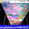 Visualización de LED brillante para el momento colorido