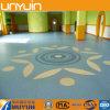Selbstklebendes Belüftung-Fußbodenbelag-, Belüftung-Vinylbodenbelag-Fliese, Baumaterial