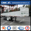 3axle Flatbed Trailer mit Side Plate (CIMC HUAJUN BRAND, BEST IN China)