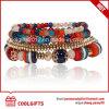 Armband van de Steen van de Juwelen van de Gift van dames de Mooie 4PCS Vastgestelde Kleurrijke
