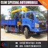 4X2 Vrachtwagen van de Kraan van Forland 3ton de Telescopische