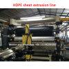 HDPEのGeomembrane水補強のシート押し出し機機械