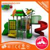 Parque de atracciones al aire libre plástico del equipo del patio de la diapositiva de los niños para la venta