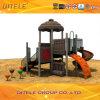 de 114mm Gegalvaniseerde Post Kleurrijke Apparatuur van de Speelplaats van de Kinderen van het Huis van de Boom Openlucht