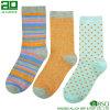 Heißer Verkaufs-Zoll gestrickte Frauen-Socken