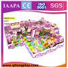 2016 neuer LLDPE heißer Plastikverkauf Plaground mit Trampoline