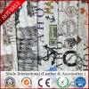 Het Synthetische Leer van pvc voor Leer Factroy Surpise Price&#160 van de Spons van pvc van de Druk van de Zijde van de Zak het Bloemen Digitale;