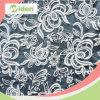 Tissu gris amical de lacet d'organza d'Eco pour la robe de mariage