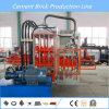 Автоматическая Гореть-Свободно машина делать кирпича цемента с сертификатом Ce