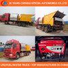 Asfalto Distribution Truck 6X4 Asphalt Synchronous Paving Truck