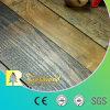 suelo laminado laminado de madera de madera raspado mano de 12.3m m HDF