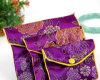 Изготовленный на заказ мешок ювелирных изделий Drawstring ткани хлопка