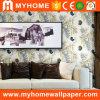 Carta da parati di lusso di bello paesaggio di carta non tessuto per la decorazione della stanza