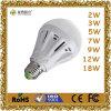 lámpara plástica del bulbo de 3W LED