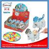 Drückendes grelles Hundeplastikspielzeug mit Süßigkeit