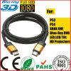 4096p*2160p LCD Kabel des Fernsehapparat-orange GoldHDMI für xBox PS4 (SY120)