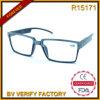 Nueva compra plástica aplicada con brocha del bulto de los marcos de las lentes de la lectura del arte R15171
