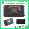 12V/24V 10A Solar Charge Controller con l'affissione a cristalli liquidi del USB di Dual (QW-1410USBB)