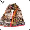 Mulheres seda na moda de nível elevado e lenço misturado lãs