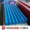 Fácil instalar/Waterproof galvanizado telhando a folha de metal