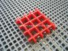 Glasvezel Versterkte Plastic Grating FRP met Concave Oppervlakte