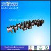Eje de Cummins del hierro o del acero para las piezas de Cranshaft del motor de Isde 6D107