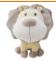 O leão simples e bonito do luxuoso do projeto brinca o terno dos brinquedos do animal de estimação/filhote de cachorro dos brinquedos dos desenhos animados para crianças