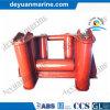 Fournisseur horizontal de guide-câble de rouleau d'amarrage marin de la Chine
