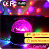 Discoteca Magic Crystal Ball Light di Yuelight New Product 7CH DMX512 RGB Christmas Sound Control Night Party Homeusing LED Music