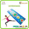 Couvre-tapis de yoga estampé par logo fait sur commande de 7 Chakras avec le suède antidérapant de Microfiber et le caoutchouc normal