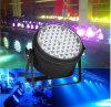 Luz RGBW 4 de la IGUALDAD de la etapa del LED en 1 luz de la etapa 54*3W