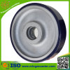 O poliuretano industrial roda o rodízio para o trole do metal