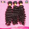 Trama 100% Curly profunda brasileira do cabelo humano de Remy do Virgin por atacado da classe 7A