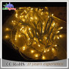 Luz da corda do diodo emissor de luz da grande decoração ao ar livre do Natal mini