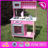 Interessantes Kids Pretend Wooden Kitchen Set Toy, Simulation Pretend Play Wooden Kitchen Toy für Children W10c161