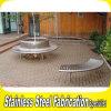 顧客用公共の屋外のステンレス鋼はベンチをつける