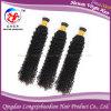 Перуанские человеческие волосы курчавых волос девственницы Remy Weft (HKCP-A228)