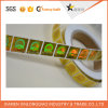 Gold Security Custom Adhesive Paper Label Printing Companyのホログラムのステッカー
