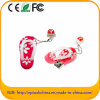 Soft PVC Shape Flash USB Drive Presentes de Natal (ES638)