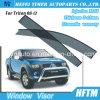 12 mois de garantie de véhicule de parasol de pare-soleil de porte pour Mitsubishi Triton