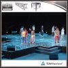 Étape portative acrylique de danse d'Assemblée avec le bâti en aluminium