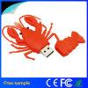 Movimentação personalizada da pena da lagosta do marisco do PVC USB2.0