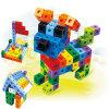 Brinquedos da caixa do bloco das crianças
