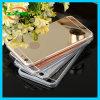 iPhone 7/6s/6のための電気めっきミラー柔らかいTPUの箱