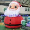Погруженный снеговик рождества заказа раздувной/раздувной снеговик рождества с светом СИД для празднества