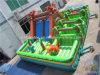 子供のためのジュラ紀の主題の膨脹可能な運動場
