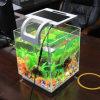 Mini aquário acrílico, aquário da tabela