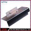 Corchete menor/mayor de la esquina largo del acero inoxidable del metal ajustable del estante